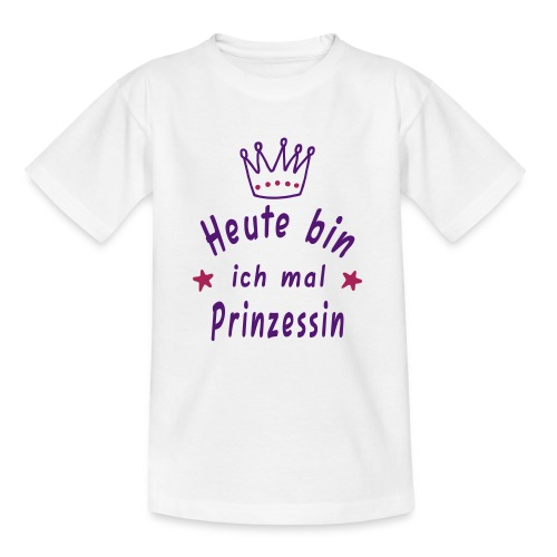 Heut mal Princesin - Kinder T-Shirt