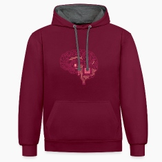 Android Gehirn Pullover & Hoodies