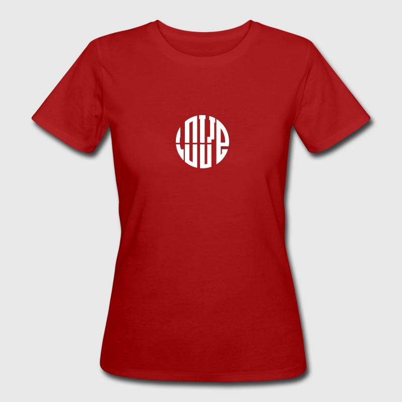LOVE circle T-Shirts - Women's Organic T-shirt