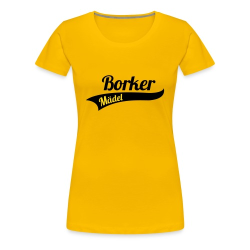 Borker Mädel Shirt - Frauen Premium T-Shirt
