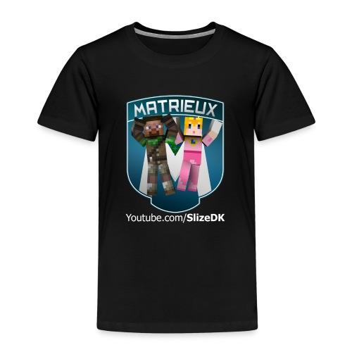 Bella & SlizeDK Matrieux Børne t-shirt - Børne premium T-shirt