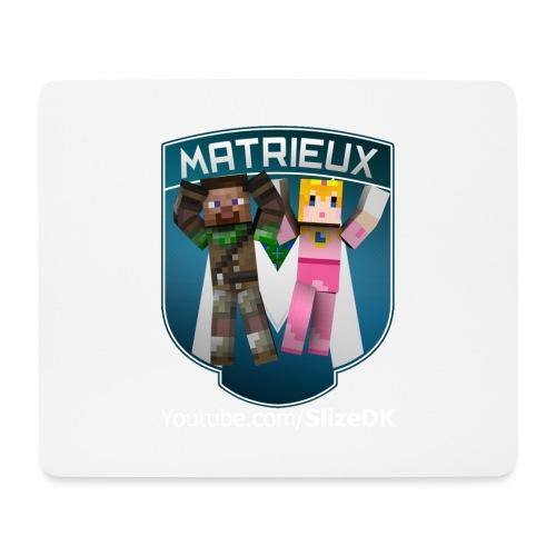 Bella & SlizeDK Matrieux musemåtte - Mousepad (bredformat)