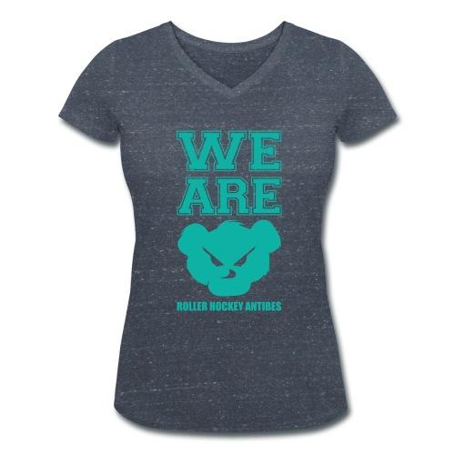 WE ARE !  - T-shirt bio col V Stanley & Stella Femme