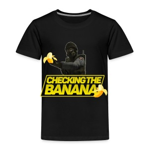 checking he banana - Kids' Premium T-Shirt