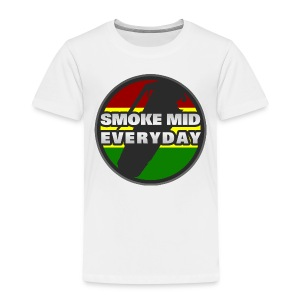 Smoke Mid Everyday - Kids' Premium T-Shirt