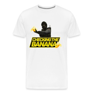 Checking The Banana - Men's Premium T-Shirt