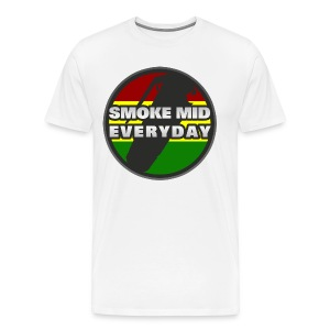 Smoke Mid Everyday - Men's Premium T-Shirt