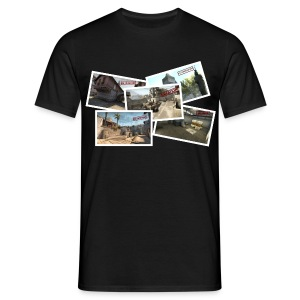 De_tourist vacation - Men's T-Shirt
