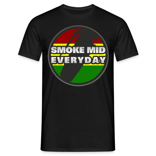 Smoke Mid Everyday - Men's T-Shirt