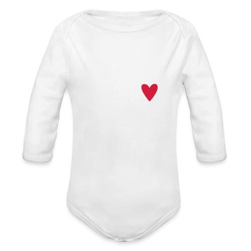 Skelet. - Langærmet babybody, økologisk bomuld