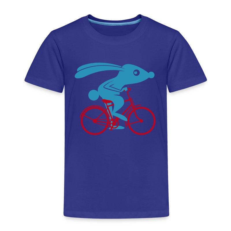 VL111C_Fahrradhase_2c T-Shirts - Kinder Premium T-Shirt