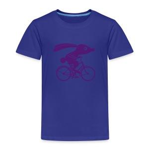 VL111B_Fahrradhase_1c T-Shirts - Kinder Premium T-Shirt