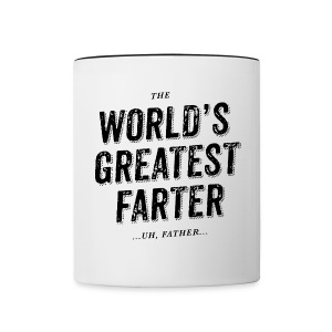 World's Greatest Father - Contrasting Mug
