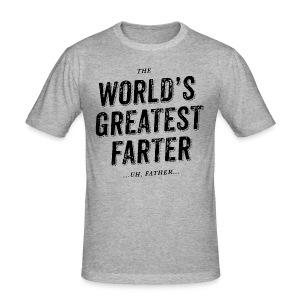World's Greatest Father - Men's Slim Fit T-Shirt
