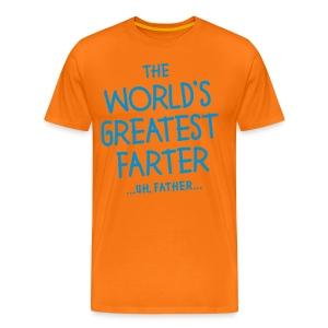 World's Greatest Father - Men's Premium T-Shirt