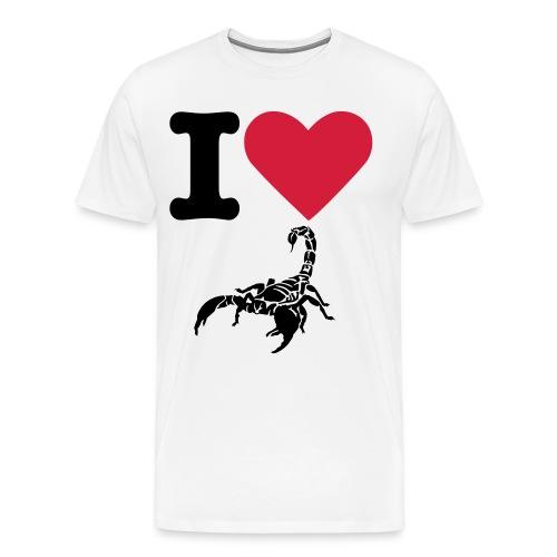 iLoveScorpion - Männer Premium T-Shirt