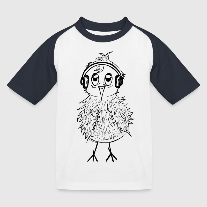 BIRD Kindershirt - Kinder Baseball T-Shirt