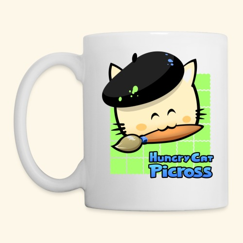 Hungry Cat Picross Mug (Green) - Mug