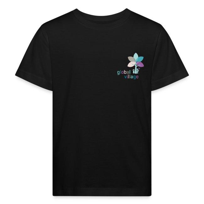 Bio Kinder T-Shirt schwarz