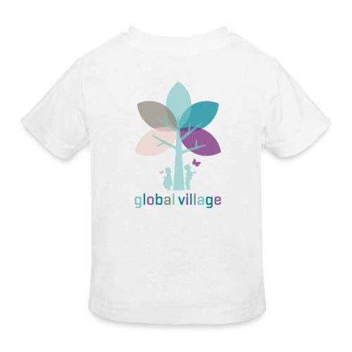 Bio Kinder T-Shirt weiß - Kinder Bio-T-Shirt