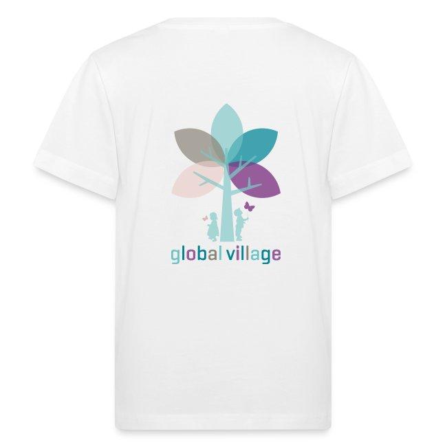 Bio Kinder T-Shirt weiß