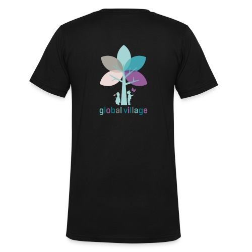 Männer T-Shirt mit V-Ausschnitt - Männer Bio-T-Shirt mit V-Ausschnitt von Stanley & Stella
