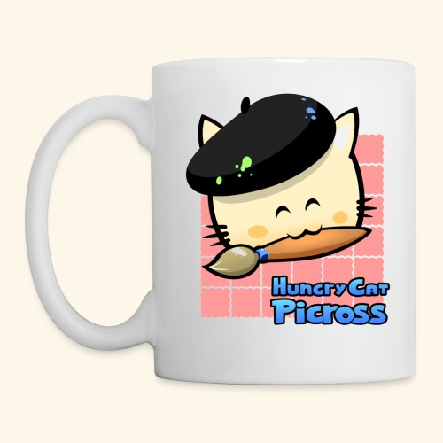 Hungry Cat Picross Mug (Pink) - Mug