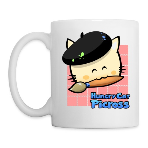 Hungry Cat Picross Mug (Pink) - Mug