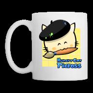Mugs & Drinkware ~ Mug ~ Hungry Cat Picross Mug (Yellow)