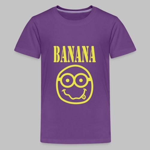 Tshirt ado (teen) Bananirvana - Teenage Premium T-Shirt
