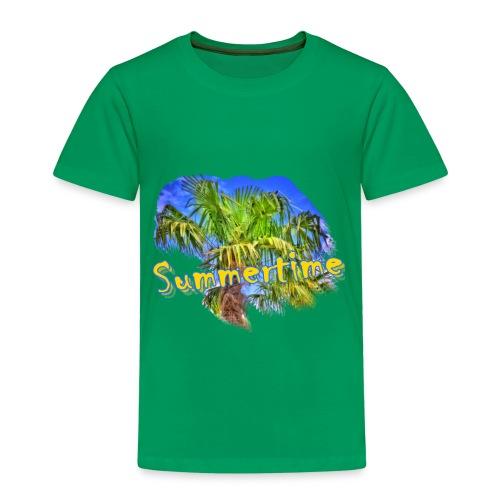 Summertime - Kinder Premium T-Shirt