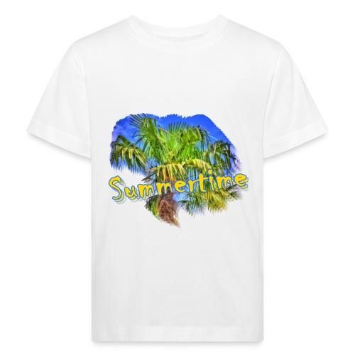 Summertime - Kinder Bio-T-Shirt