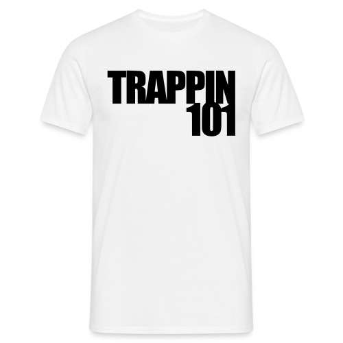 Trappin 101 White Tee - Männer T-Shirt