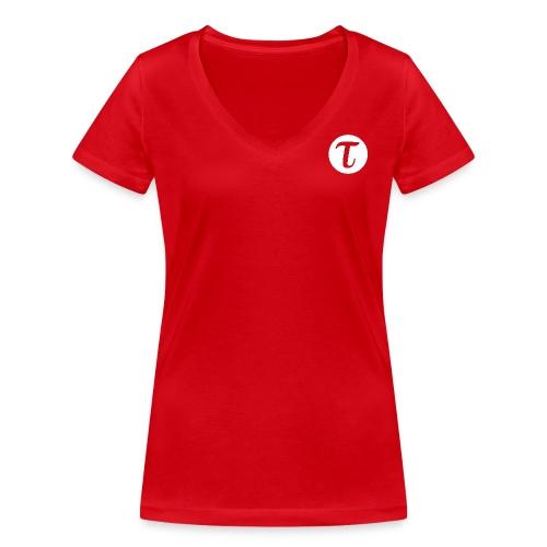 Naisten t-paita, v-aukko - Stanley & Stellan naisten v-aukkoinen luomu-T-paita