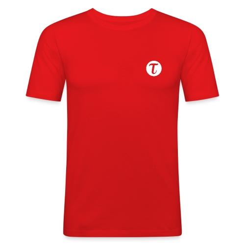 Miesten t-paita, slim fit - Miesten tyköistuva t-paita