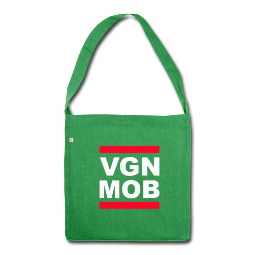 Vegan Mob Beutel - Schultertasche aus Recycling-Material