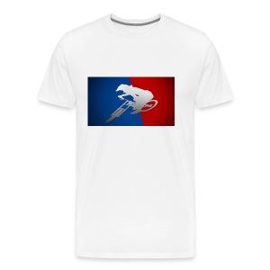 Major league of downhill - T-shirt Premium Homme
