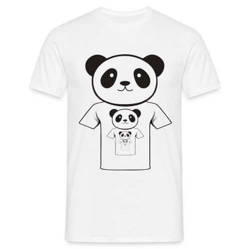 Men's T-Shirt - tshirt,pandares,panda,love