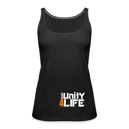 Classic Black Female - Frauen Premium Tank Top