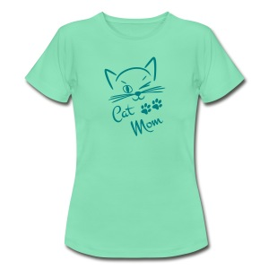 Katzenshirt Cat-Mom - Frauen T-Shirt