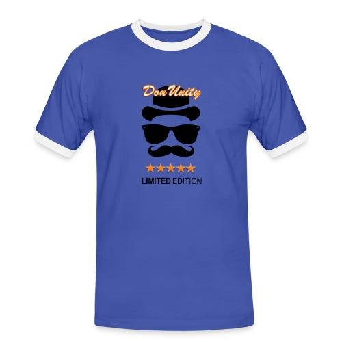 DonUnity Limited Retro - Männer Kontrast-T-Shirt