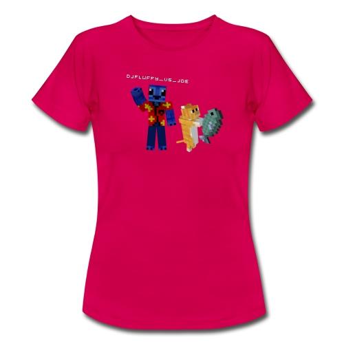 Budget FLuFFy vs Cat - Female - Vrouwen T-shirt