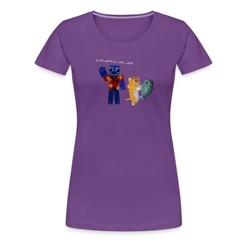 Premium FLuFFy vs Cat - Female - Vrouwen Premium T-shirt