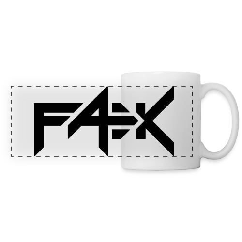 Coffee mug with FÆK-logo - Panoraamamuki