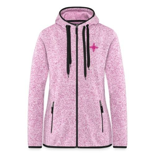 Pink Edition - Frauen Kapuzen-Fleecejacke