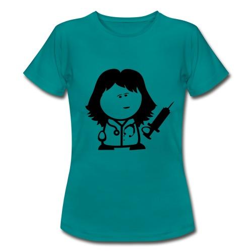 Retter-Ärztin-Nerd - Frauen T-Shirt
