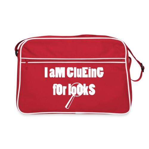 Clueing for looks - Tasche - Retro Tasche