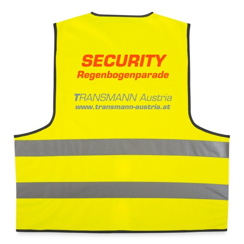 Transmann Austria - SECURITY - Warnweste