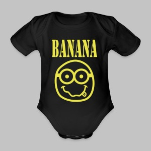 Body bébé (baby) Bananirvana - Organic Short-sleeved Baby Bodysuit