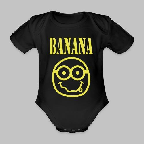 Body bébé (baby) Bananirvana - Organic Short-sleeved Baby Bodysuit